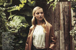This 'Garden Variety' Shoot Captures Flare Spring Fashion