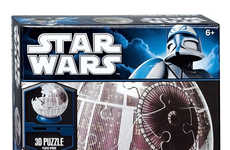Star-Destroying Spherical Puzzles - The Star Wars Death Star Puzzle is 3d and for Fans of All Ages