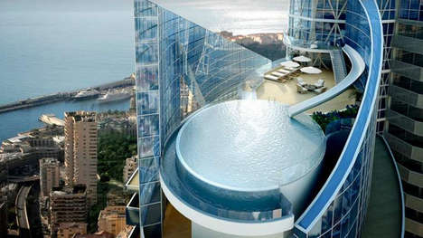 Touchscreen Skyrise Apartments - Monaco