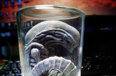Iconic Sci-Fi Specimen Art