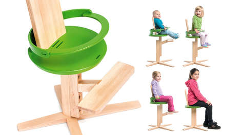 Wooden Froc Chair