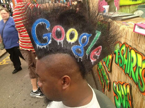 Outrageous Mohawk Advertising - Mohawk Ads by Mohawk Gaz Can be Customized to Suit Any Brand