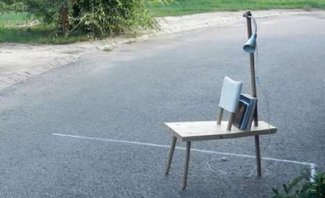 Reading Chair by AUWorkshop