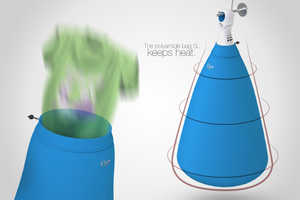 Oyer Portable Clothes Dryer is Easy to Store and Use and Quick to Work
