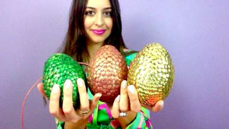 Dragon Egg Easter Eggs