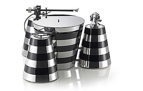 Zebra-Striped Turntables - Montegiro Lusso