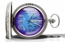 OLED Pocket Watches - The Cobalt