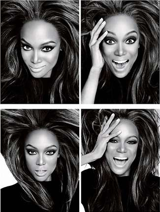 Supermodel Smiling Lessons - Tyra Banks Shows 275 Smiles