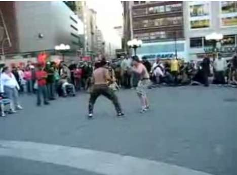 Staged Urban Brawls