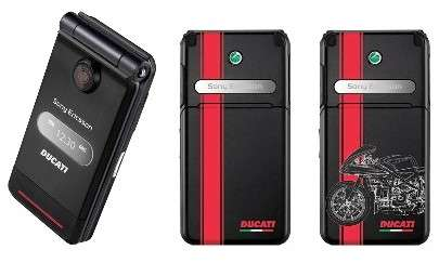 Co-Branded Phones - Sony Ericsson Ducati Z770