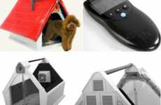 High Tech Pet Homes - Cool Pet House Has Remote Control, Webcam