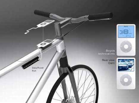 Bike-Powered iPods