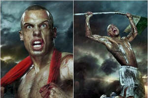 300 Dutch Football Team Ads by Erwin Olaf