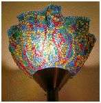 Melted Bead Lampshapes