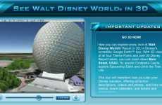 Disney Google Earth Tour