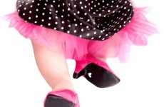 Baby Footwear Fashion - 'Heelarious' Petite Pumps