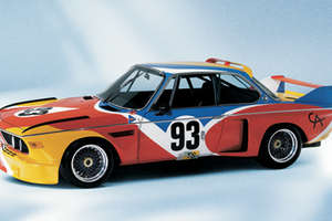 The BMW Art Cars