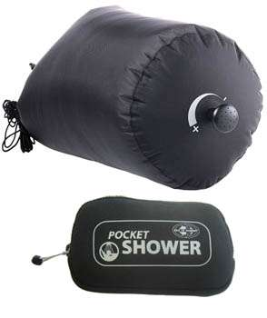 Pocket Shower - Luxuries of Home in the Wild
