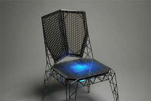 Eiffel Tower Inspired 'Six' Chairs