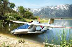 Folding Personal Aircrafts - The ICON A5 Amphibious Sport Plane