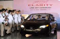 Mass Produced Fuel Cell Cars - Honda Announces Plans for the FCX Clarity