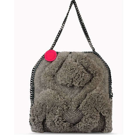 Exclusive Sheep Wool Purses - The Stella Mccartney Itsy Bitsy Bag is Made from Her Own Sheep