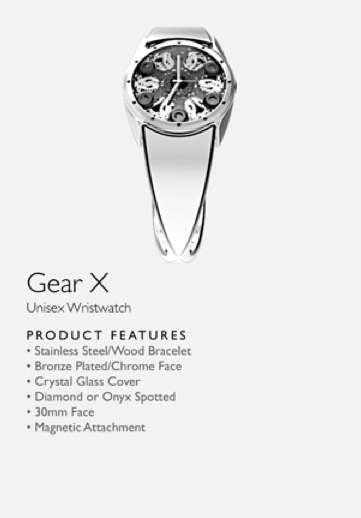 Gear X Watch