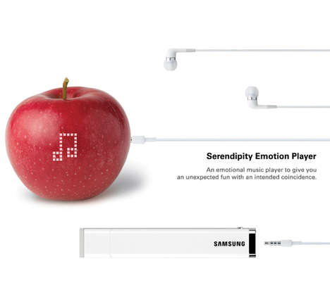 Mood-Based MP3 Players - The Samsung Serendipity Emotion Player Chooses Music to Match Your Color