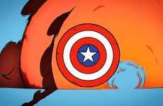 Morphing Superhero Videos