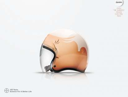 Helmet Head Ads