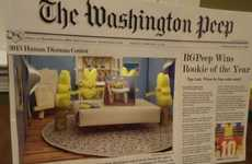 Annual Marshmallow Dioramas - The Washington Post Peeps Show VII Winner Was Inspired by Twinkies