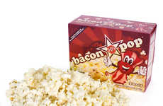 Pork-Flavored Popcorn - Bacon Pop is A Crispy Tasty Snack Food for Satisfying Cravings