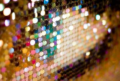 Bedazzled Billboard Advertising - The Sparklemasters Sequinned Billboards Grab Attention