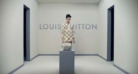 Imprisoned Model Commercials - This Louis Vuitton 2013 Ad is Paradoxical