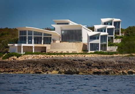 Stunning Seaside Escapes - Villa Kishti by Frank Alfred Hamilton and Cecconi Simone Inc is Refined