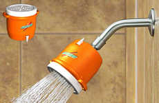 Game Celebration Shower Heads - Dave Delisle's Novelty Shower Head Makes Every Day a Winner