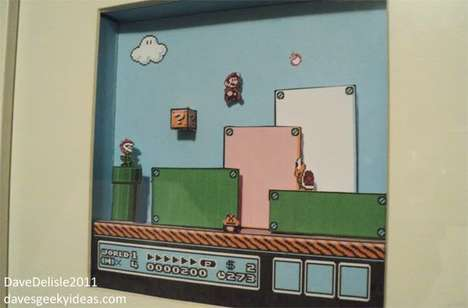 video game dioramas