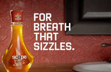 Bacon-Flavored Mouthwash - This Bacon Scope Mouthwash is Revealed Suspiciously Near April Fools Day