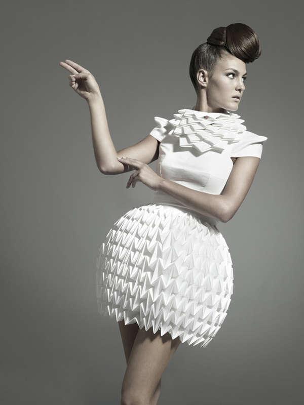 Futuristic Geometric Dresses  2
