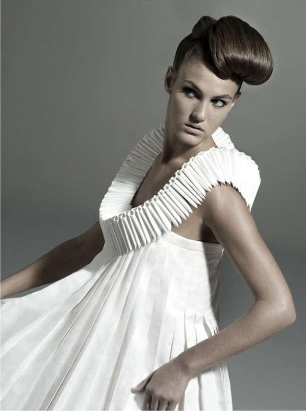 Futuristic Geometric Dresses  4