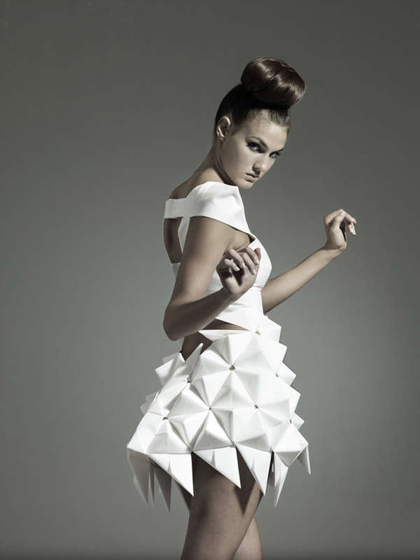 Futuristic Geometric Dresses  7