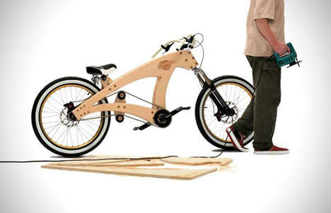 Wooden DIY Bicycles - Jurgen Kuipers