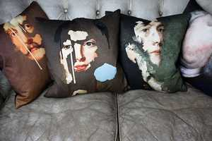 The Chad Wys Decorative PIllow Collection is Artistically Inclined