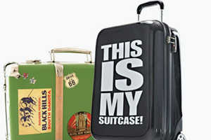 These Luggage Covers from SuitSuit Will Decorate Your Travel Gear