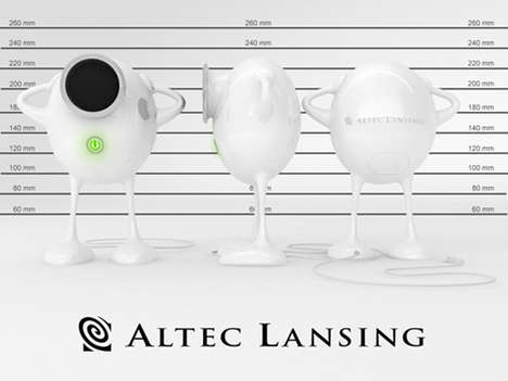 Altec Lansing Humpty Dumpty Speakers