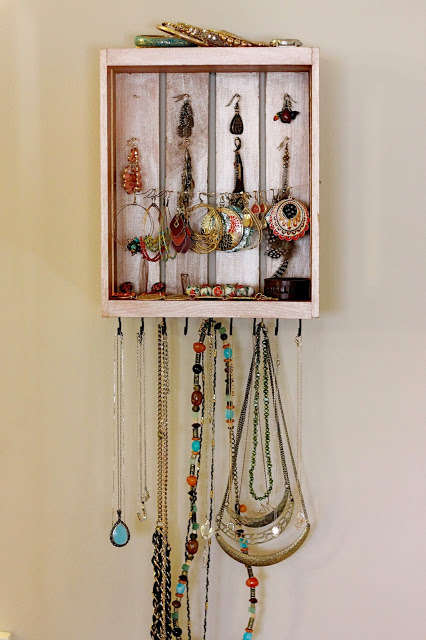 DIY Crate Jewelry Boxes