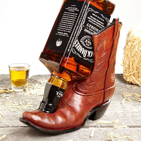 Cowboy Boot Beverage Holders
