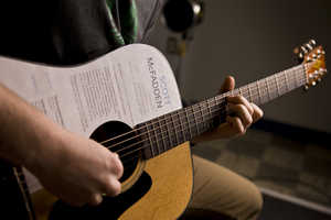 Scott Mcfadden Printed His Resume on His Guitar to Get Noticed