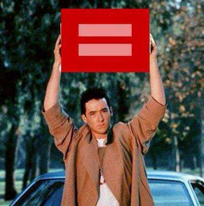 Marriage Equality Internet Memes - These Memes for Red Equality Offer Very Creative Variants