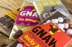 Naturally Odd-Flavored Confections - These Chocolate Bars from Gnaw are All Natural